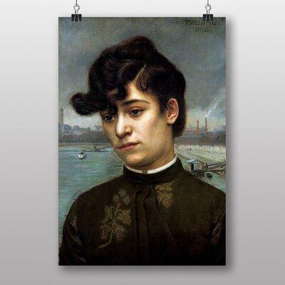 Big Box Art Portrait of Juliette Lacour by Felix Vallotton Art Print