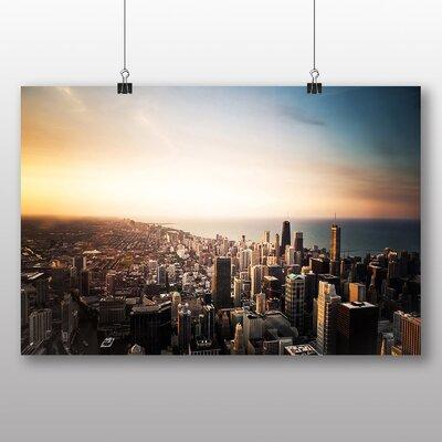 Big Box Art Chicago Skyline USA Photographic Print