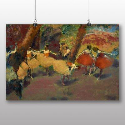 Big Box Art 'Before the Performance' by Edgar Degas Art Print