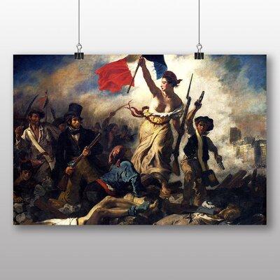Big Box Art 'French Liberty' by Eugene Delacroix Art Print