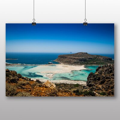 Big Box Art Crete Greece Photographic Print on Canvas