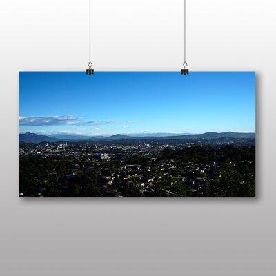 Big Box Art El Salvador Landscape Sunset No.2 Photographic Print Wrapped on Canvas