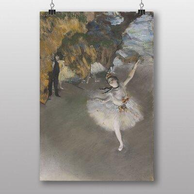 "Big Box Art ""The Star Ballerina"" by Edgar Degas Art Print"