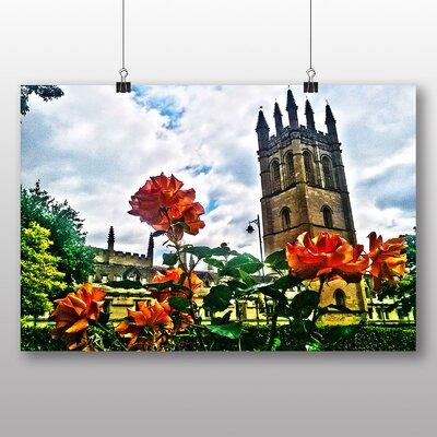 Big Box Art Floral Oxford Photographic Print on Canvas