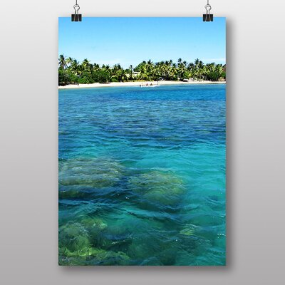 Big Box Art Fiji Beach No.1 Photographic Print Wrapped on Canvas