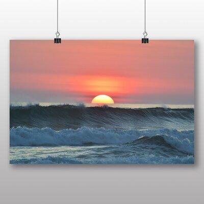 Big Box Art Costa Rica Sunset Photographic Print on Canvas