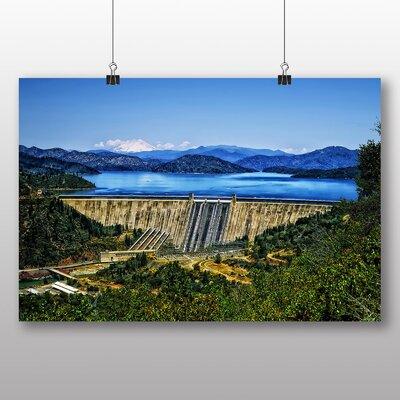 Big Box Art Fontana Dam North Carolina Photographic Print on Canvas