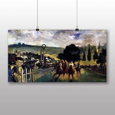 Big Box Art 'Race Before the Start' by Edouard Manet Art Print