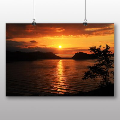 Big Box Art Evening Sunset No.4 Photographic Print Wrapped on Canvas