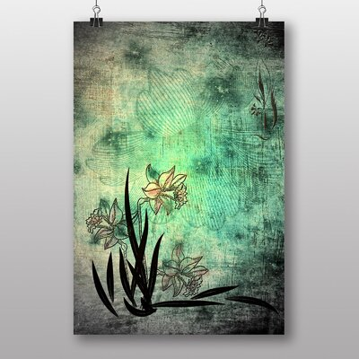 Big Box Art Daffodil Flower Graphic Art on Canvas