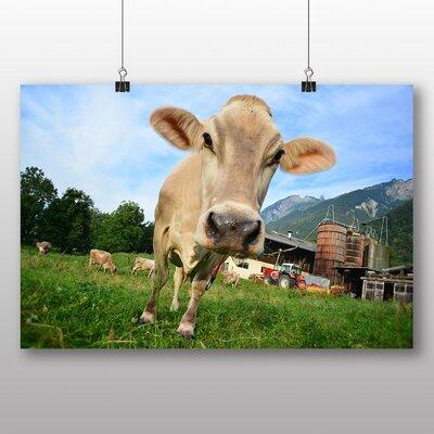 Big Box Art Cow No.3 Photographic Print on Canvas
