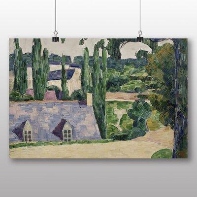 Big Box Art 'Landscape at Pont Aven' by Emile Bernard Art Print