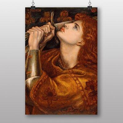 Big Box Art Heroine by Dante Gabriel Rossetti Art Print