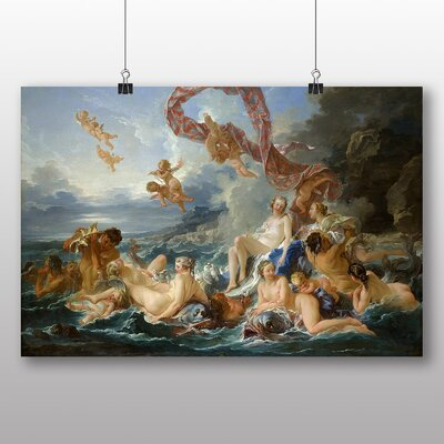 Big Box Art 'Triumph of Venus' by Francois Boucher Art Print