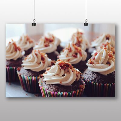 Big Box Art Cupcakes No.2 Photographic Print Wrapped on Canvas