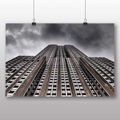 Big Box Art Empire State Building New York City No.5 Photographic Print Wrapped on Canvas