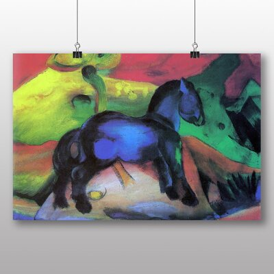 Big Box Art 'Blue Horse No.2' by Franz Marc Art Print