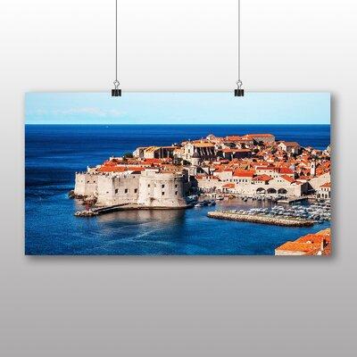 Big Box Art Dubrovnik Croatia No.2 Photographic Print Wrapped on Canvas