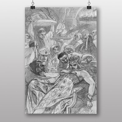 Big Box Art Theadora by Felicien Rops Art Print
