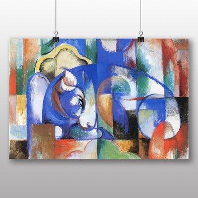 Big Box Art 'Blue Bull' by Franz Marc Art Print