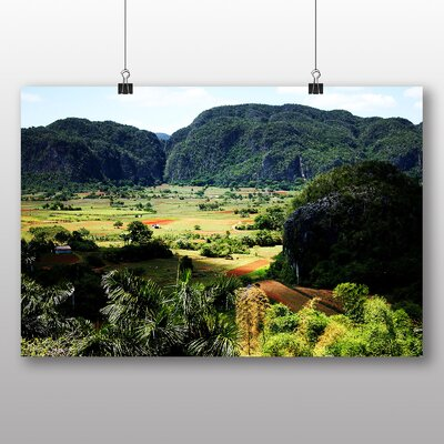 Big Box Art Cuba Landscape No.1 Photographic Print Wrapped on Canvas
