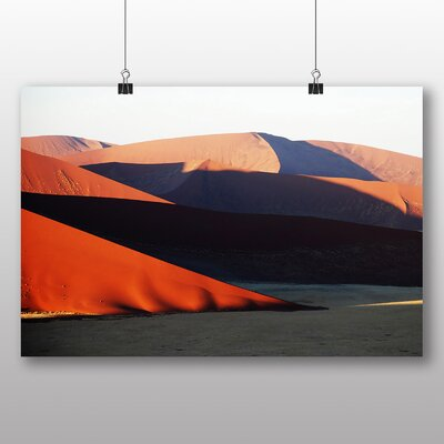 Big Box Art Desert Namibia No.4 Photographic Print Wrapped on Canvas