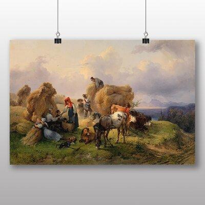 Big Box Art 'The Harvest' by Ferdinand Georg Waldmuller Art Print