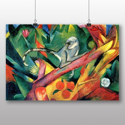 Big Box Art 'Monkey' by Franz Marc Art Print