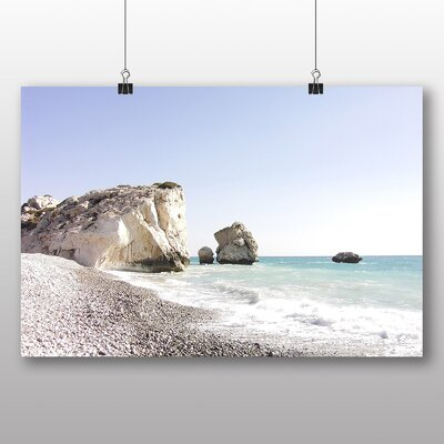 Big Box Art Cyprus Beach Photographic Print