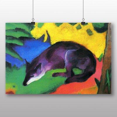 Big Box Art 'The Wolf' by Franz Marc Art Print