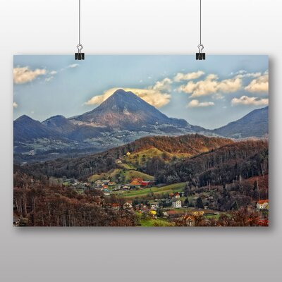 Big Box Art Donacka Mountain Slovenia Photographic Print Wrapped on Canvas