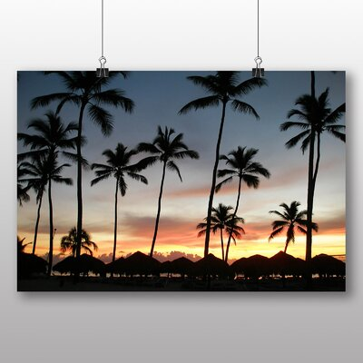 Big Box Art Dominican Republic Caribbean Sunset Photographic Print