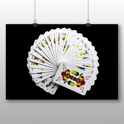 Big Box Art Deck of Cards Photographic Print Wrapped on Canvas
