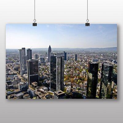 Big Box Art Frankfurt Skyline Germany No.3 Photographic Print on Canvas