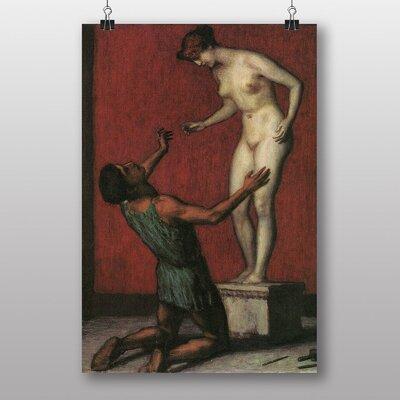 "Big Box Art ""Pygmalion"" by Franz Stuck Art Print"