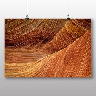 Big Box Art Canyon Sandstone No.1 Graphic Art on Canvas