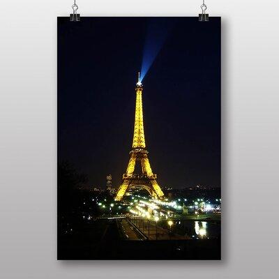 Big Box Art Eiffel Tower Paris France No.3 Photographic Print
