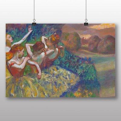 Big Box Art 'Dancers Preparing No.2' by Edgar Degas Art Print