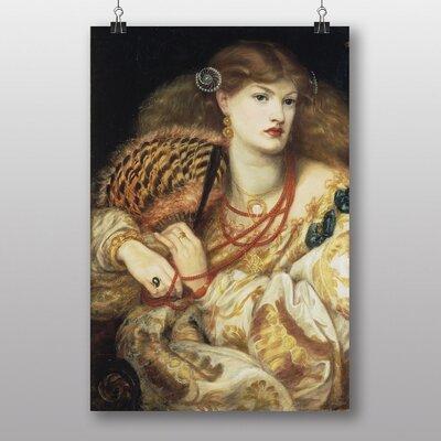 "Big Box Art ""Monna Vanna"" by Dante Gabriel Rossetti Art Print"