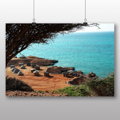 Big Box Art Djibouti Africa No.2 Photographic Print Wrapped on Canvas