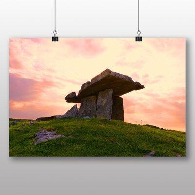 Big Box Art Dolmen Ireland Photographic Print on Canvas