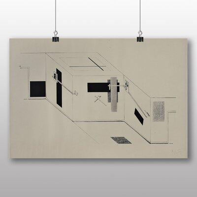 Big Box Art 'Proun 23' by El Lissitzky Graphic Art