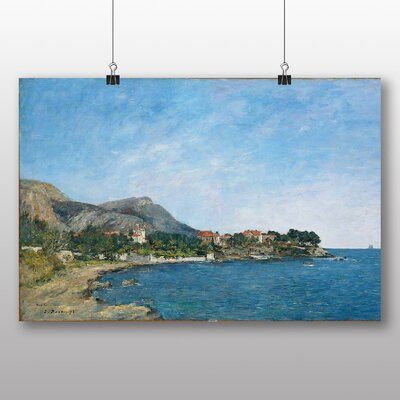 Big Box Art 'Beaulieu, the Bay of Fourmis' by Eugene Boudin Art Print
