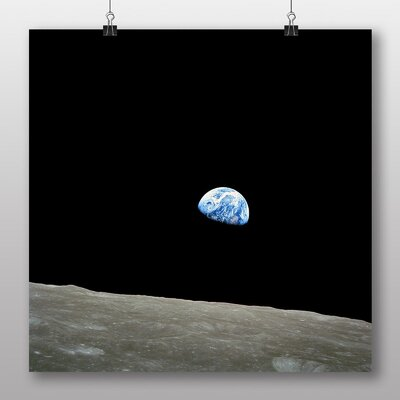 Big Box Art Earth From Space No.2 Graphic Art on Canvas