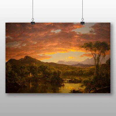Big Box Art 'A Country Home' by Frederic Edwin Church Art Print
