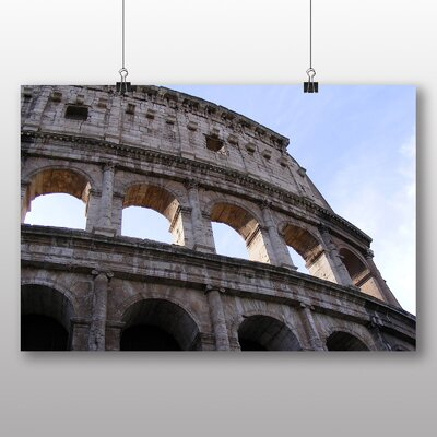 Big Box Art Coliseum Rome Italy No.1 Photographic Print