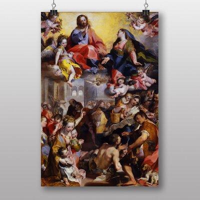 "Big Box Art ""Madonna of People"" by Federico Barocci Art Print"