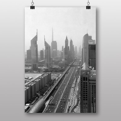 Big Box Art Dubai No.2 Photographic Print Wrapped on Canvas