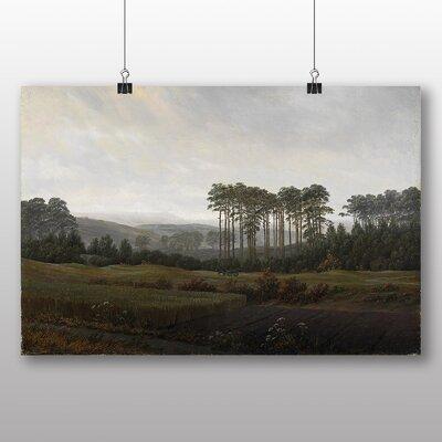 Big Box Art 'Landscape No.1' by Caspar David Friedrich Art Print