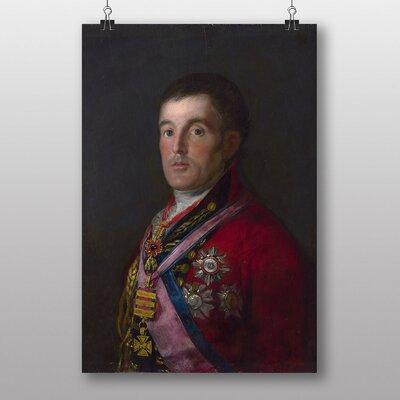 "Big Box Art ""Duke of Wellington"" by Francisco De Goya Art Print"